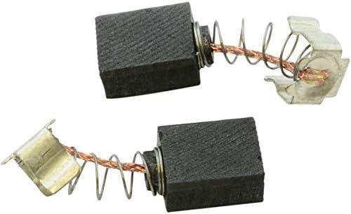 6x9x11mm Escobillas de Carb/ón para MAKITA HP2071 taladro 2.4x3.5x4.3