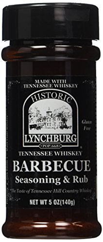 (Historic Lychburg Tennessee Whiskey Barbecue Seasoning & Rub)