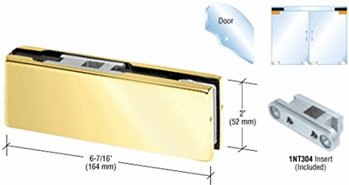 Brass Top Door Patch Fitting with 1NT304 Insert by CR Laurence