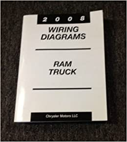 2008 dodge ram truck cummins diesel electrical wiring diagram shop manual  ewd: dodge: amazon com: books