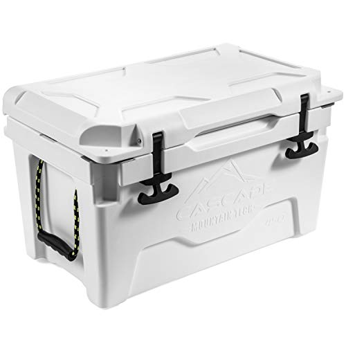 Cascade Mountain Tech 45-Quart Rotomolded Cooler...