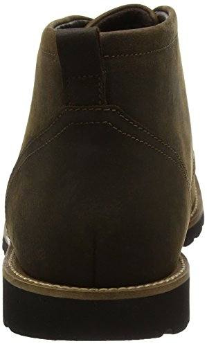 Rockport Modern Break, Botas Chukka para Hombre Marrón (Brown)