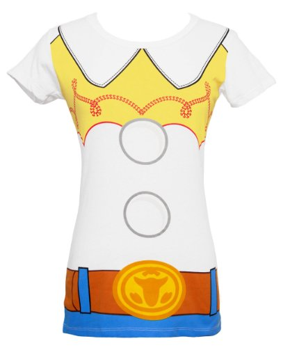 Adult Toy Story Jessie Costumes (Toy Story Jessie Costume Juniors T-Shirt (X-Small))