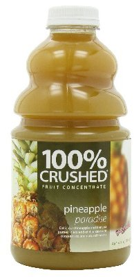 (Dr. Smoothie 100% Crushed Fruit Concentrate, Pineapple Paradise, 46-Ounce Bottles (Pack of 2))