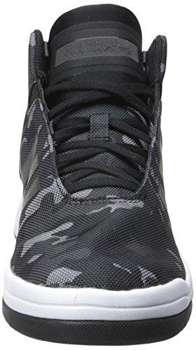 Sneaker Adidas Originali Mens Veritas Mid Nero / Bianco 8 M