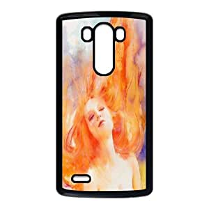 DIY Stylish Printing Watercolor painting Cover Custom Case For LG G3 V6Q951981