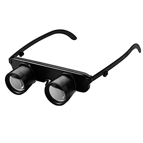 Ultralight  Hand-free Binoculars Glasses Portable  Spyglasses  Adjustment Magnifier Outdoor  for Hiking Fishing Sight Seeing
