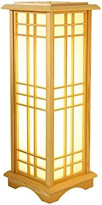 Lámparas de pie, luz de Piso LED de Madera Maciza, Cuidado de la ...