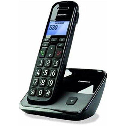 Grundig D530 DECT Schnurlostelefon schwarz