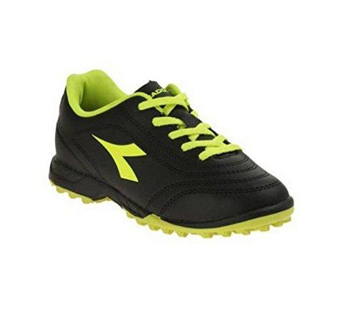 Diadora - Zapatillas de Material Sintético para niño negro