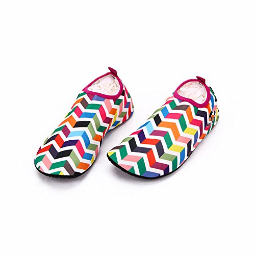 Women's Socks Yoga Soft Barefoot Running Swimming Shoes Skin Unisex Sport Exercises Red Snorkeling Water Men's Aqua Surfing Beach for fSdfqwp