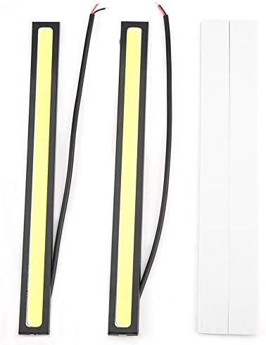 [해외]Senyar Car LED Daytime Running Light(Universal) Car COB LED Daytime Running Light DRL Fog Lamp (White light) / Senyar Car LED Daytime Running Light,(Universal) Car COB LED Daytime Running Light DRL Fog Lamp (White light)
