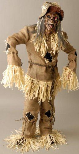[Mega Scarecrow Adult Costume - One Size] (Male Scarecrow Costume)