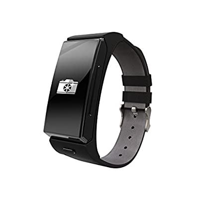 Toprime®U20 Fitness Tracker with Heart Rate Monitor Sleep Monitor Pedometer Watch Anti-lost Bluetooth Sync,Black