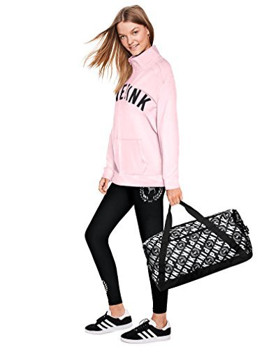 Victoria's Secret PINK NEW WEEKENDER 23'' Gym Duffle Bag Color Logo NWT