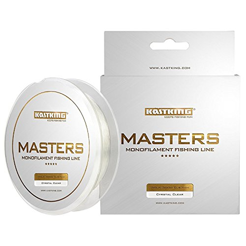 KastKing Masters Monofilament Fishing Line Tournament Grade Mono Line 300Yds/274M Premium Fishing...