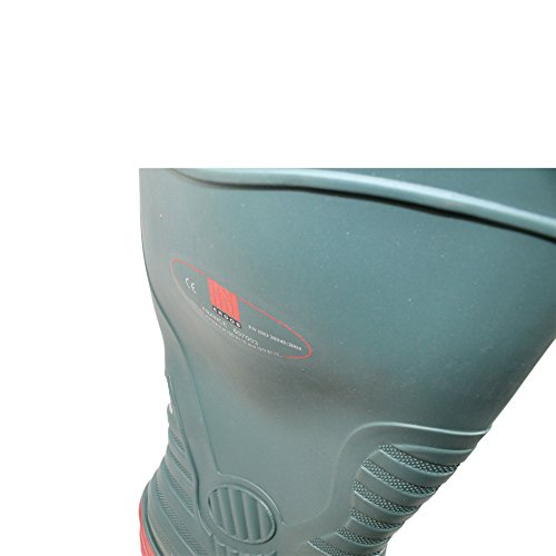 Ergos - Calzado de protección de Piel para hombre Verde verde Verde