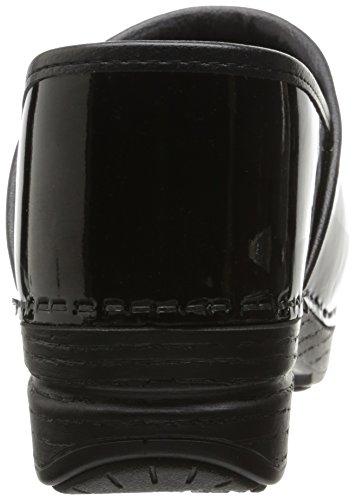 Wide Mule Patent Pro Dansko Black Women's XP 05qvwTB