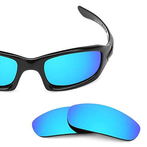 (Revant Replacement Lenses for Oakley Fives (2009) Ice Blue MirrorShield)