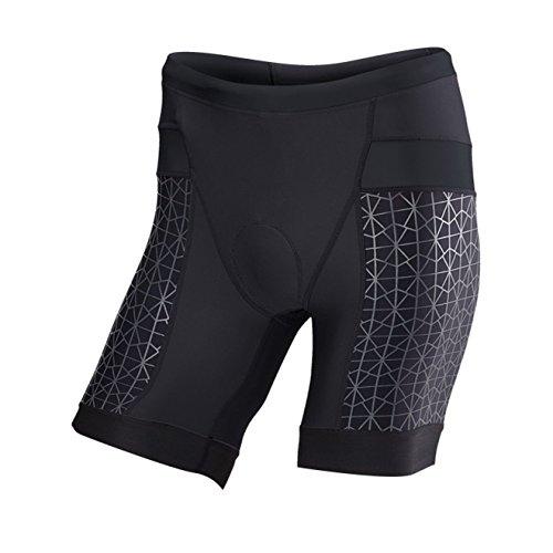 Tyr Tri Shorts - TYR Competitor 7in Tri Short - Men's Black/Black, M