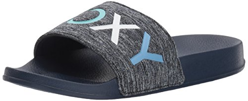 Roxy Women's Slippy Textile Slide Sandal Sport