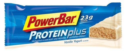 PowerBar ProteinPlus High Protein Bar, Vanilla Yogurt, 2.75-Ounce Bars (Pack of 12)