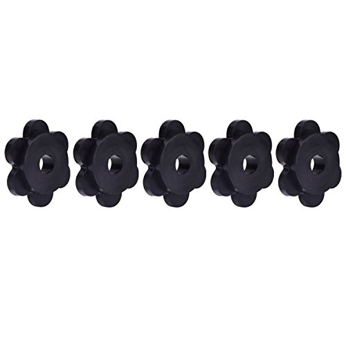 eBoot Garden Flag Stoppers Rubber Flag Stoppers, Set of 5