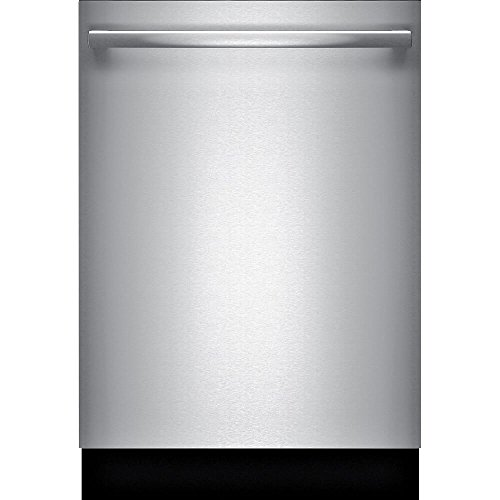 "Bosch 300 Series 24"" Bar Handle Dishwasher with Stainless Steel Tub Stainless Steel SHXM63W55N"
