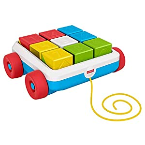 Fisher-Price Pull-Along Activity Blocks Colorful...