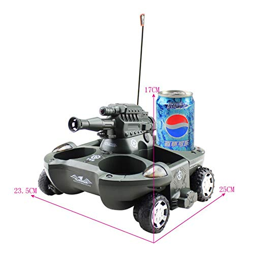 KUVV Cool Amphibious Remote Control Tank Boat Charging Remote Control Car Launch Vehicle
