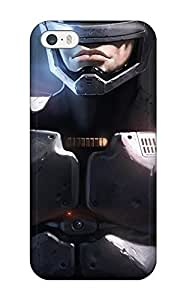 Fashion Tpu Case For Iphone 5/5s- Robocop Defender Case Cover
