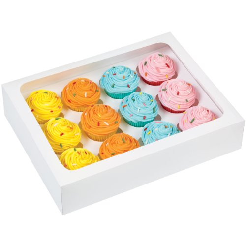 (Wilton 415-1696 12-Cavity Cupcake Box, Mini)
