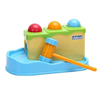 WITKA Pounding Toys for Toddlers with Hammer and 3 Balls Gifts for 1 2 Year Olds Boys Girls