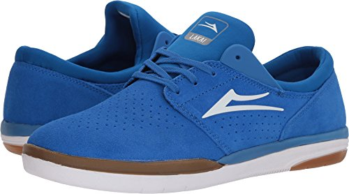Lakai Mens Skateboard Shoe - Lakai Fremont, Royal/Gum Suede, 10.5 Medium US
