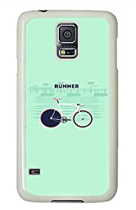 You Are Runner PC White Hard Case Cover Skin For Samsung Galaxy S5 I9600