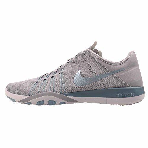 new concept 6e2a5 2cf16 Galleon - NIKE Women s Free TR 6 Training Shoe (6, Wolf Grey Smokey Blue-Mica  Blue-White)