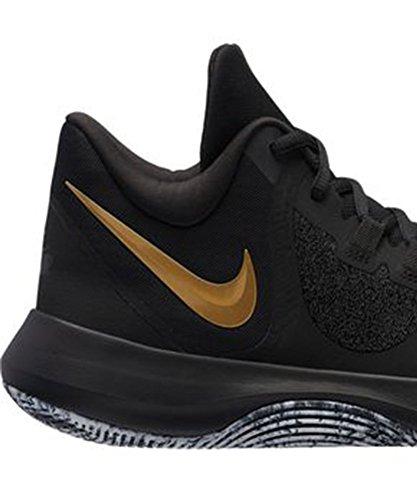 Hommes Chaussures 11 Noir Matriau De Pour Nike Basketball En Us Synthtique g0qwZ