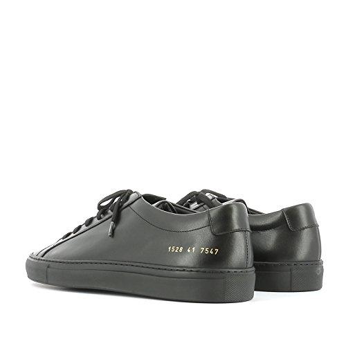 Common Projects Herren 15287547 Schwarz Leder Sneakers
