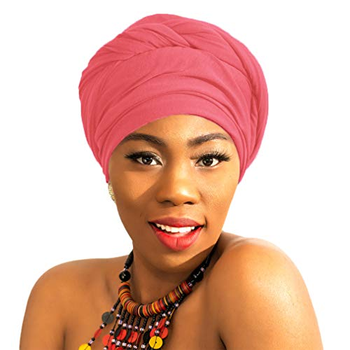 LMVERNA Women's Jersey hijab scarves cotton fashion long plain muslim head scarf wrap shawls (Color 1) ()