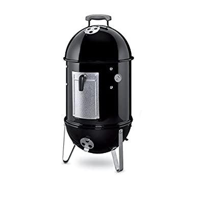 Weber 711001 Smokey Mountain Cooker 14-Inch Charcoal Smoker, Black Sale ;from#4cheapink