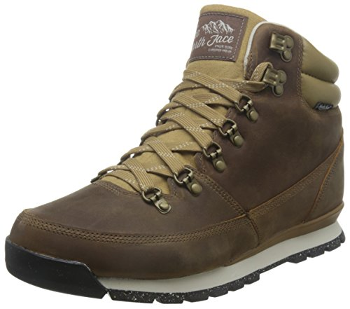 The North Face Back-To-Berkeley Redux Leather Boot - Men's Dijon Brown/Vintage White 7.5