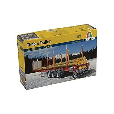 Italeri 3868 1: 24Timber Trailer: Toys & Games
