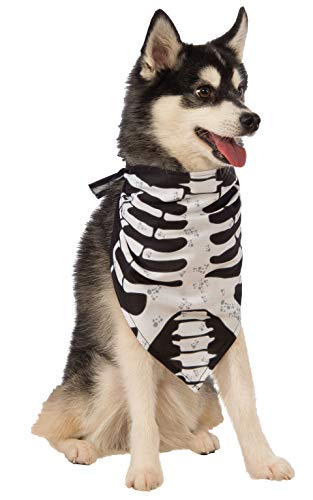 Skeleton Bandana Halloween (Rubie's Skeleton Bandana Dog)