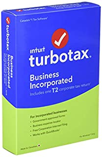 TurboTax/ImpotRapide Business Incorporated 2018 (B07KH2WS2Q) | Amazon Products