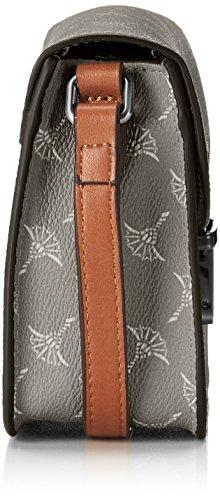 Joop! Cortina Cosima Shoulderbag Xshf, Borse a spalla Donna Grigio (Light Grey)
