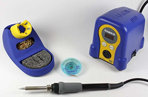 Hakko FX888D Digital Station with a 5 ft. Spool Soder-Wic...