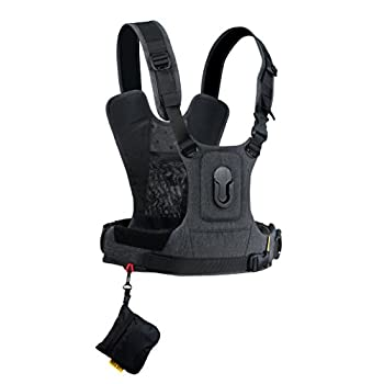 Image of Camera & Camcorder Straps Cotton Carrier CCS G3 Camera Harness System for One Camera - Grey