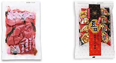 [2点セット] 赤かぶすぐき(160g)・飛騨銘菓「打保屋」の駄菓子 豆板(8枚入)