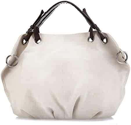 37022a267f2a Shopping Whites or Ivory - Fabric - Hobo Bags - Handbags & Wallets ...