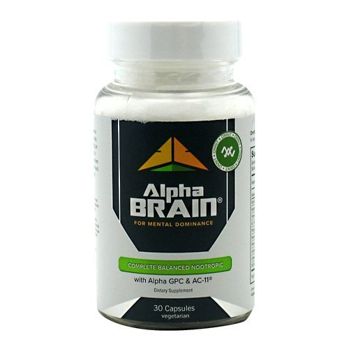 Alpha Brain By Onnit Labs Advanced Brain Booster Nootropic